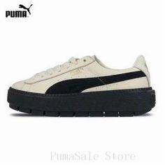 8d44c55353c4 PUMA SUEDE Platform Trace 367980-03-02-01 Women Badminton Shoes Rihanna 4
