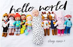Ethically produced, hand-knit dolls that help feed children in need. Each doll is hand crafted in Peru by talented artisans with premium cotton.