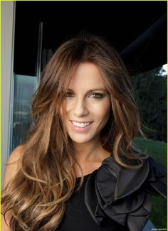 Kate Beckinsale...love her hair color