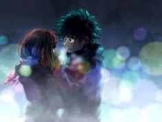 Boku no Hero Academia : Midoriya Izuku and Uraraka Ochako