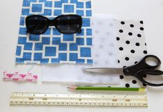 I Can See Clearly:  Stylish Sunglass Case