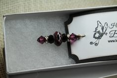 Gorgeous Dark Amethyst Colored Stick Pin, Scarf pin, Hat Pin, Shawl Pin, Lapel Pin, Coat Pin, Brooch Pin