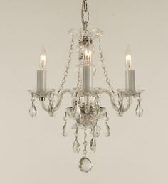 This fantastic crystal chandelier comes with candle votives which allow the chandelier to be used for indoor and limited outdoor use as well! Description from gallery803.com. I searched for this on bing.com/images