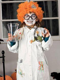 Project: Gory Brain Cap | Mad scientist costume, Scientist costume ...