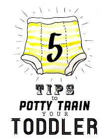 A Lovely Lark: Potty Talk: 5 Tips to Potty Train your Toddler