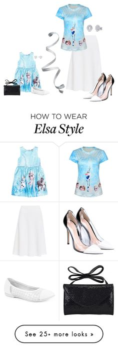 """small version #31"" by moria801 on Polyvore featuring NIC+ZOE, H&M, Disney, step2wo, Gianvito Rossi and Pori"