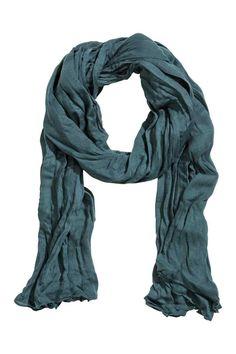 Velký šátek - Tyrkysová - ŽENY | H&M CZ