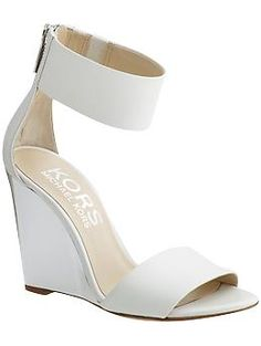 Shoot I needed cute white sandal!! That's my story and I'm sticking to it!!!