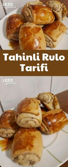 Tahinli Rulo Tarifi Tahini, Turkish Recipes, Ethnic Recipes, Types Of Bread, Scones, French Toast, Brunch, Food And Drink, Cooking