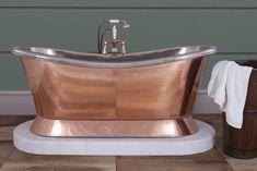 Marble plinth to fit Hurlingham Copper Bateau bath Marble Bath, Baths