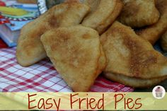 Fried-Pies   I used to make these all the time--try filling them with any sauces, like sloppy joe or taco sauce.
