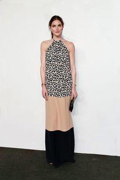 Hilary Rhoda, en un look de leopard print, de Michael Kors colección Resort 2014, en Nueva York. http://www.vogue.mx/galerias/las-mejor-vestidas-de-la-semana-34/2624/image/1145368