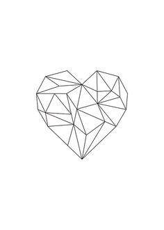Stylish poster, heart with geometric shapes. Print online – Małgorzata Dziedzic Stylish poster, heart with geometric shapes. Print online Stylish poster, heart with geometric shapes. Heart Poster, Poster Poster, Geometric Poster, Geometric Wall, Buy Posters, Black Heart, String Art, Flash Art, Art Drawings