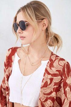 d9a2e82ed9 Maddock Brow Bar Round Sunglasses