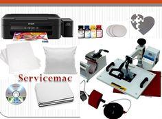 Servicemac Comércio Equipamentos Têxteis.:                   Kit Estampar...