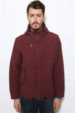 Shore Leave Burgundy Funnel Jacket at Urban Outfitters Urban Outfitters, Burgundy, Hoodies, Sweaters, Jackets, Clothes, Women, Fashion, Down Jackets