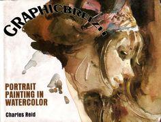 Charles reid   portrait painting watercolor by joaoubaldo via slideshare