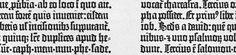 Het kopiëren van manuscripten, een rugbrekend en oogafmattend werk dat dag-in-dag-uit door monniken in scriptoria werd verricht, vergde niet alleen veel van lichaam en geest, maar ook veel kostbaar, uit geprepareerde huiden vervaardigd perkament. De schrijvers leerden dan ook zuiniger om te springen met dit materiaal door letters smaller te schrijven, terwijl tegelijk de snelheid werd verhoogd door een hoekiger schriftbeeld. Zo ontstond de gotische minuskel.
