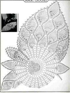 Album Archive - Magic Crochet Nº 28 Filet Crochet, Crochet Doily Diagram, Crochet Doily Patterns, Thread Crochet, Crochet Motif, Crochet Designs, Crochet Stitches, Crochet Table Runner, Crochet Tablecloth