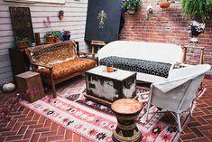 bohemian gypsy patio