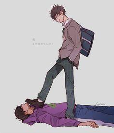 Osomatsu San Doujinshi, Ichimatsu, Anime Couples Manga, My Little Pony, Anime Art, Fandoms, Fan Art, Shit Happens, Drawings