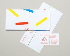 Logo, headed paper, envelope and business card designed by Studio Lin for Tokyo homeware store Minke.