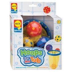 Alex Toys Hoops Rub-a-Dub in the Tub Bath Toy