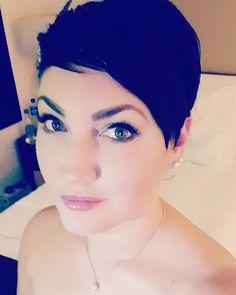 Cut my hair and went short again. In love!!!