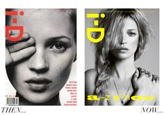 Kate Moss ID Magazine Covers