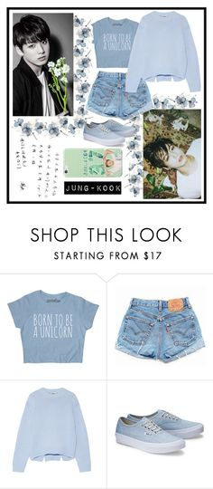 """""""•Jung-Kook•"""" by srtayeah ❤ liked on Polyvore featuring Levi's and Acne Studios"""