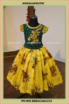 kids lehenga blouse with hand embroidery designs by Angalakruthi boutique in bangalore kids boutique in bangalore international shipment service available girls lehenga with hand embroidery designs maggam work blouse for kids dress