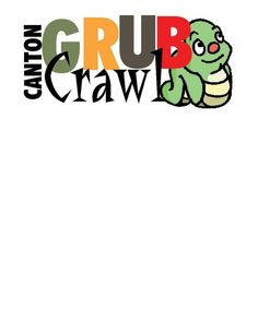 Canton Grub Crawl, Canton, Michigan.  Put on by the Chamber of Commerce, participants get a t-shirt and travel by charted bus to over 15 different restaurants who supply samples of their menu items.  Over 400 people take part.  Yummy.