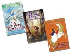 Astrid Lindgren Collection - 3 Books RRP £20.97 (The Brothers Lionheart; Mio's Kingdom; Ronia, the Robbers Daughter) by Astrid Lindgren