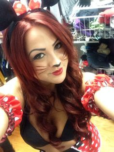 minnie mouse make up | halloween | Pinterest | Minnie mouse, Mice ...
