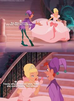 Ha Ha the things we learn from Disney  Charlotte and Travis - The Princess and the Frog