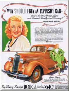 1936 Ginger Rogers