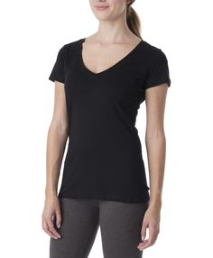 Super soft organic women's v-neck tee from Wear PACT. Fair Trade Certified cotton v-neck that is perfect for everyday wear. Shop organic now!
