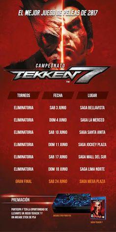 LIMA VAGA: Campeonato de Tekken 7 en Saga Falabella