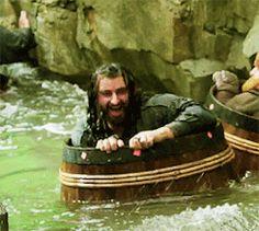 Richard Armitage as Thorin Oakenshield in The Hobbit Trilogies (2012-2014) DoS (gif)