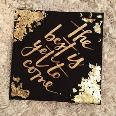 ROMANS 8:28 #truthbomb It's graduation season and my Pinterest board/ insta DMs are going crazyyyy! I'm so encouraged though that everyone loves my cap. To all my followers, & inquirers, @cheraart did my graduation cap! She caught my vision and executed it. REACH OUT TO HER bc she is an amazing artist! It's 5months later in 2016, & THE BEST IS still YET TO COME! Thanks for the inspo @polly_payne @horacioprinting! Best best best.... #graduationcap #decor #graduation #2015 #decembergrad