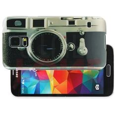 Fone-Stuff Retro Classic Old Fashioned Camera Protective Hard Shell Cover Case for Samsung Galaxy S5