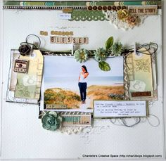 March DT kit - so richly blessed