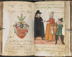 Johan Jacob Firnhaber's album amicorum (1614), from Uppsala University Library's Waller collection -- ms Y 50 k