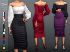 - New mesh Found in TSR Category 'Sims 4 Female Everyday' Sims Four, Sims 4 Mm Cc, Sims 4 Mods Clothes, Sims 4 Clothing, Female Clothing, 60s Mod Fashion, Sporty Fashion, Ski Fashion, Fashion Women