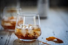 Fresh orange zest and maple are what make this old fashioned something special. Food Styling | Food Photography | Dark Food Photography | Moody | Anisa Sabet | The Macadames