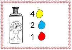 toverdrankjes met pipetjes 4 (met cijfers)