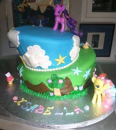 CustomCakesByBrianAnderson My little Pony for Izzy