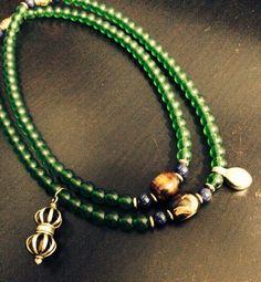 108綠琉璃念珠