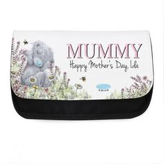 Personalised Me to You Bear Bees Make Up Bag : Me to You Bear Store, the entire Me to You Bear Collection including Plush, Figurines, Stationary, Balloons and Bikes. Tatty Teddy, Happy Mothers Day, Brand Names, Bees, Unique Gifts, Make Up, Personalized Items, Wood Bees, Original Gifts