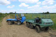 Steyr Puch Haflinger 4x4 and the only 6x6